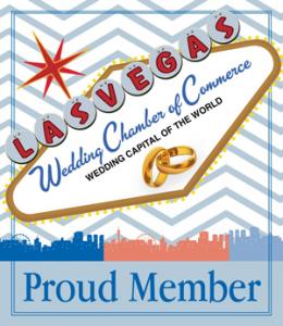 Las Vegas wedding-chamber-of commerce proud member badge
